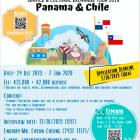 拉美深度遊 – 聯校巴拿馬、智利服務文化交流團  現正接受報名!