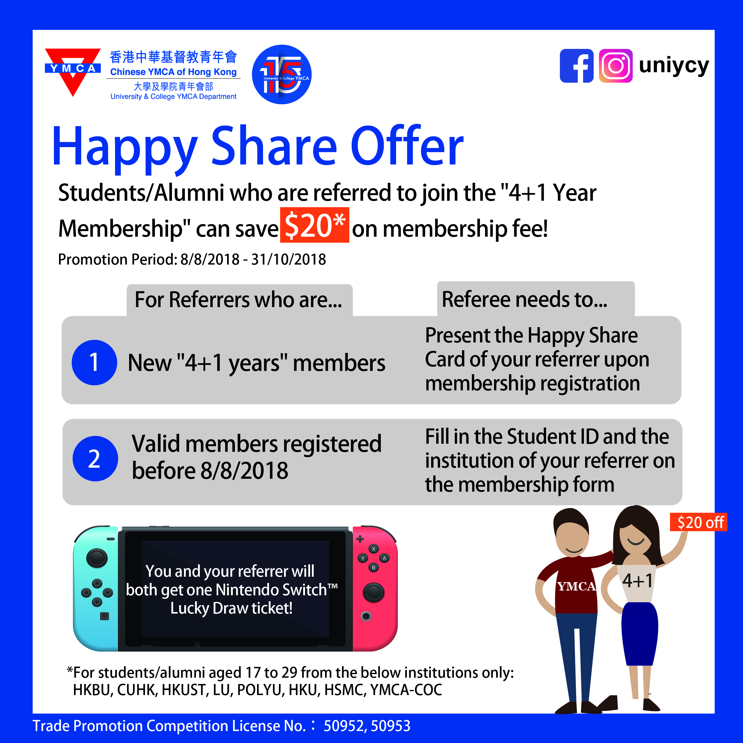 Happy Share Offer Details
